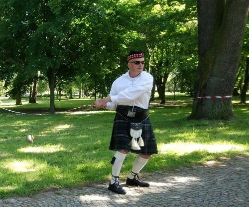Rzut Młotem Szkockim w Ciechocinku